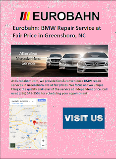 BMW service Greensboro, NC