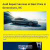 Bmw repair greensboro NC
